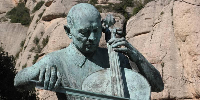 Pablo Casals célèbre violoncelliste à l'honneur du Festival Pablo Casals