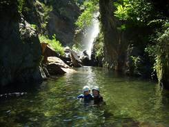 Canyon de la Lentilla
