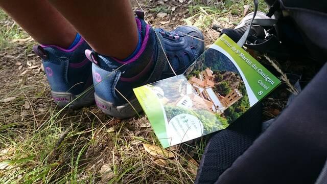 Hiking leaflets