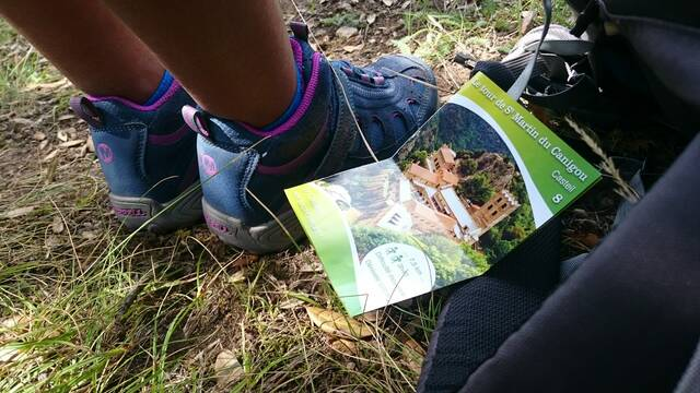 Hiking leaflets