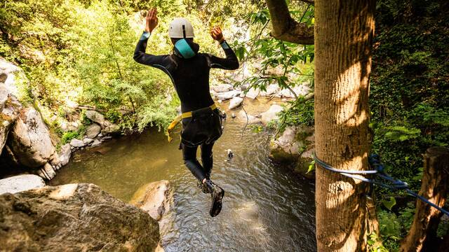 Canyoning and white water sports