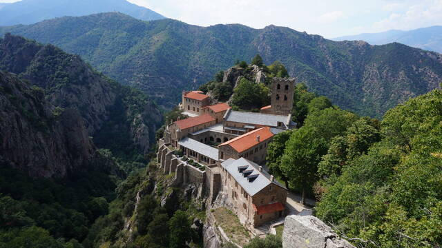 The Abbey of St Martin du Canigou