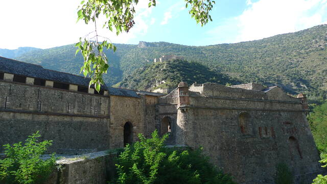 The ramparts of Villefranche-de-Conflent