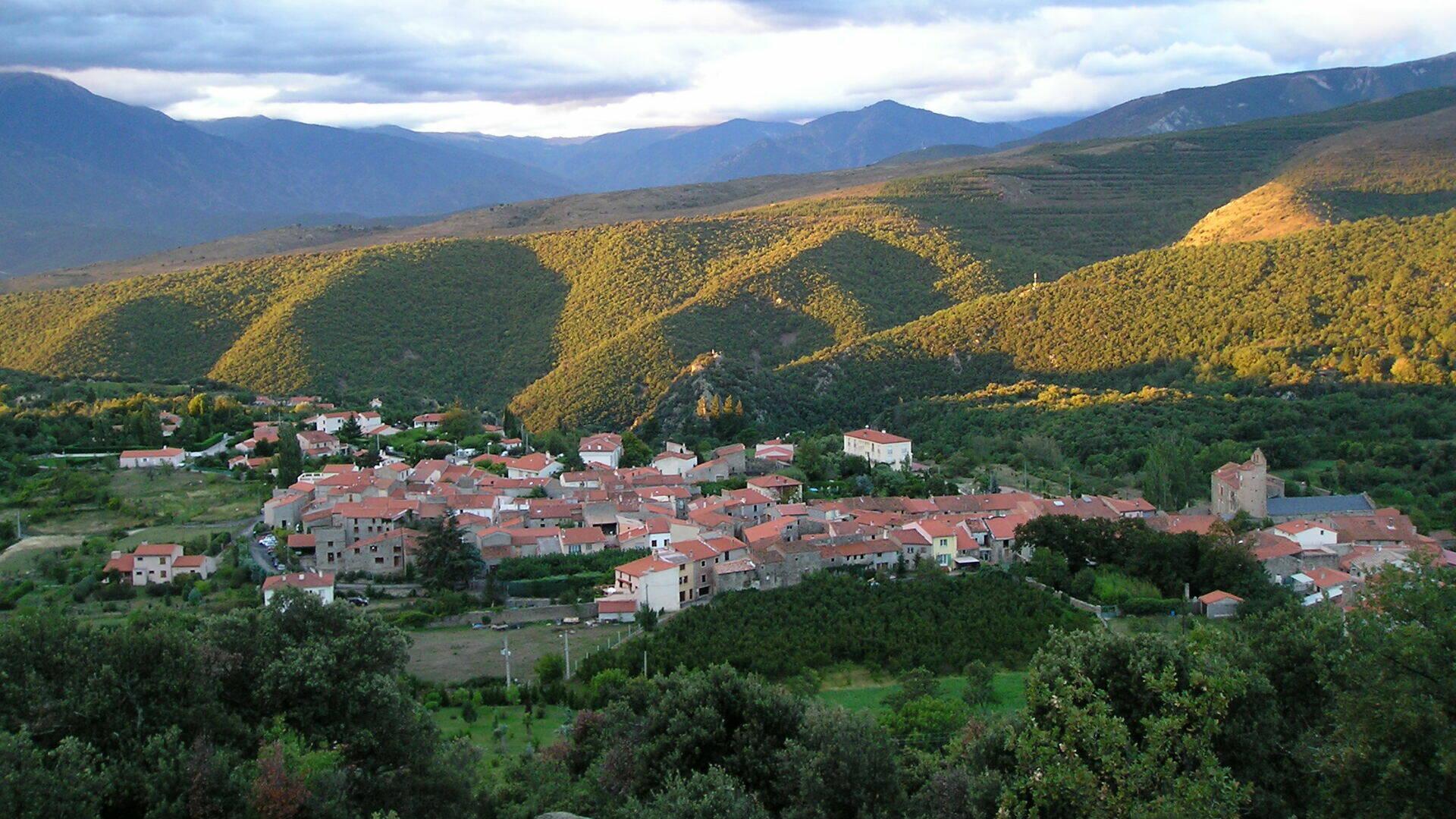 Molitg les Bains village