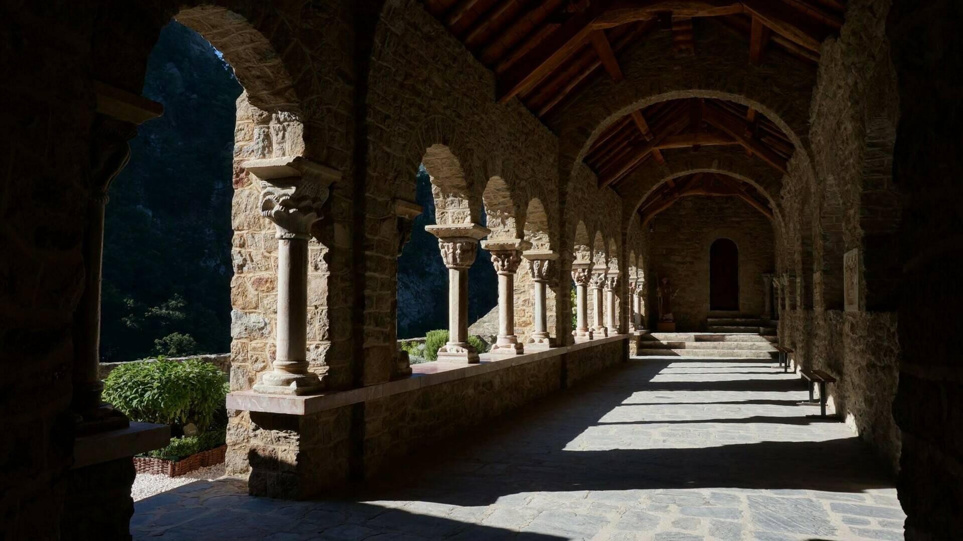 abbey saint martin du canigou