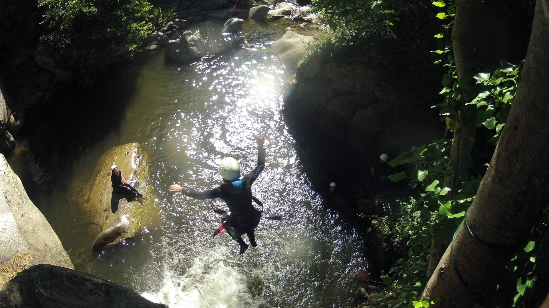 canyoning canigou